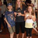 Mes 3 plus jeunes supporters, Estelle, Romain et Deborah